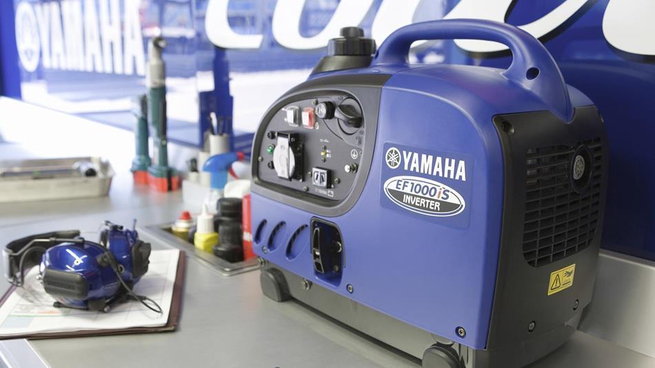 Генератор Yamaha EF1000 в Ашае