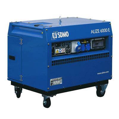Генератор SDMO ALIZE 6000 E в Ашае