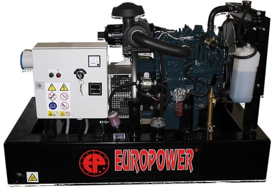 Генератор дизельный Europower EP 30 DE в Ашае
