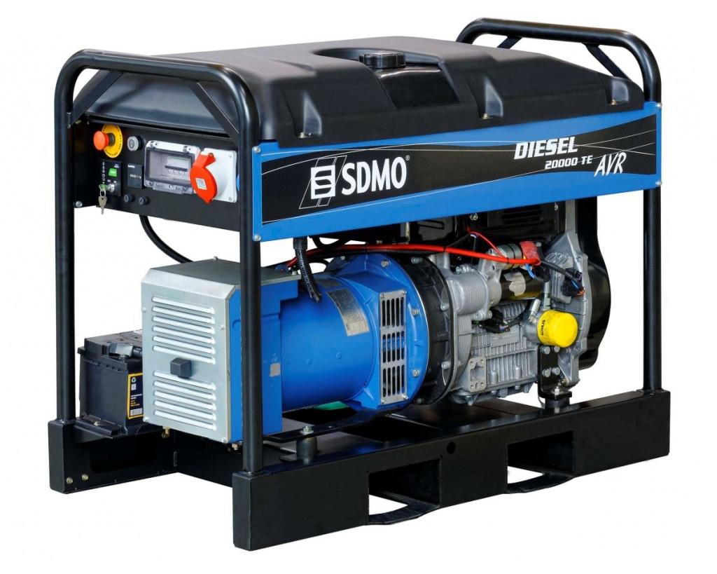 Генератор SDMO DIESEL 20000 TE XL AVR C в Ашае