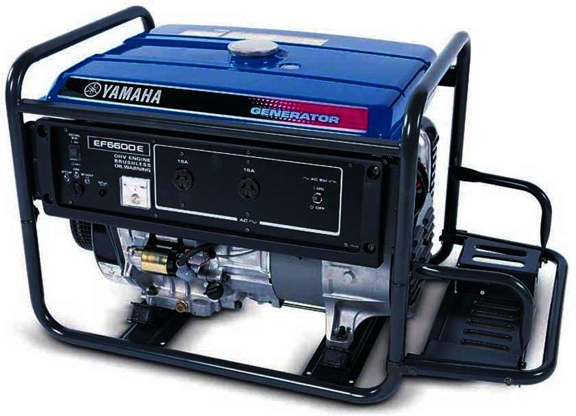 Генератор Yamaha  EF6600E в Ашае