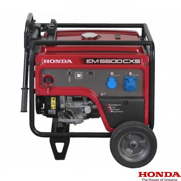 Генератор Honda EM5500 CXS 1 в Ашае