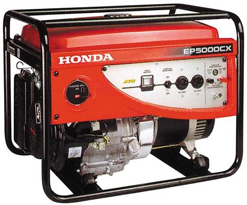 Генератор Honda EP5000 CX RG в Ашае
