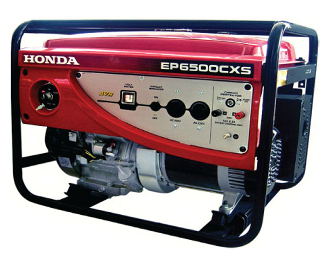 Генератор Honda EP6500 CXS в Ашае