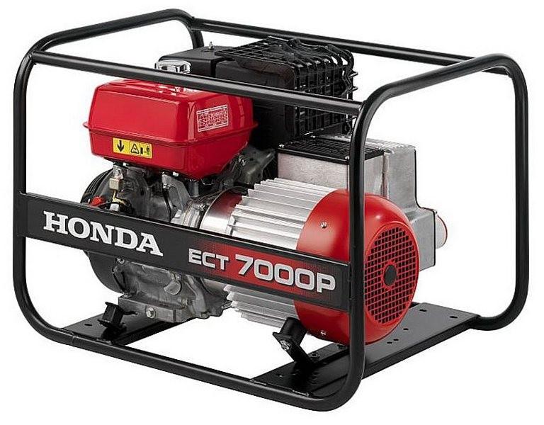 Генератор Honda EСТ 7000P в Ашае