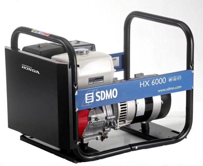 Генератор SDMO HX 6000-S в Ашае